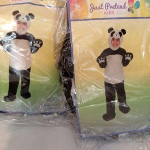 Panda Halloween costume 1T 2T